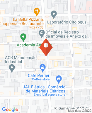 Mapa da empresa Bru Burger's