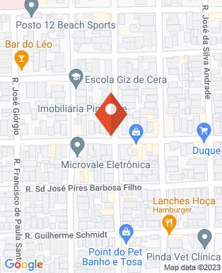 Mapa da empresa Imobiliária Pindense