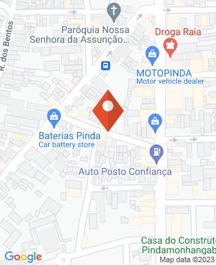 Mapa da empresa Ponto do Óleo