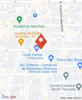 Mapa da empresa Tonhão Lanches