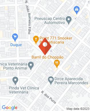 Mapa da empresa Patricia Modas