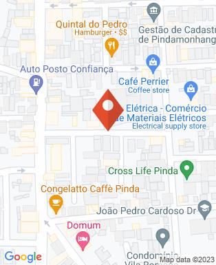 Mapa da empresa Trevo Locação de Caçambas
