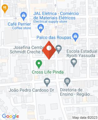 Mapa da empresa Evc Corretora de Seguros