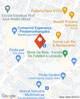 Mapa da empresa Neidde Fantasias