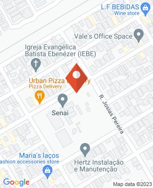 Mapa da empresa Serviço Nacional de Aprendizagem Industrial - Geraldo Alckmin