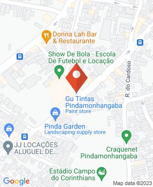 Mapa da empresa Gu Tintas