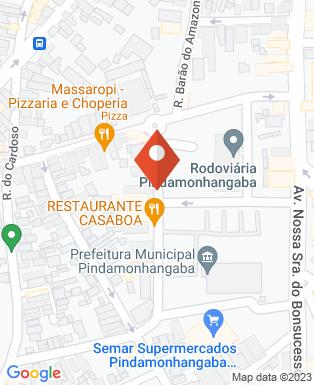 Mapa da empresa Restaurante Sabor Fazendinha