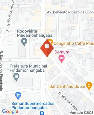 Mapa da empresa Coruja Lanches