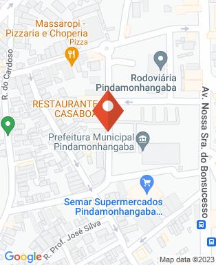 Mapa da empresa Freelaser Depilação Definitiva