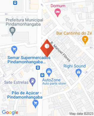 Mapa da empresa Bradesco 237 - Ag. 2086