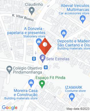 Mapa da empresa Losil Materiais de Construção