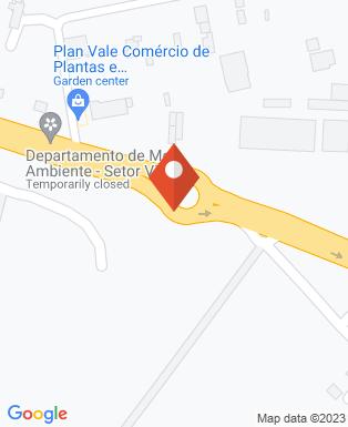 Mapa da empresa Aeroclube de Pindamonhangaba