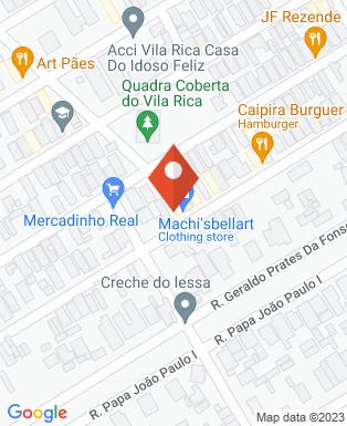 Mapa da empresa Pintura 7 Cores