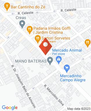 Mapa da empresa Tábatha Coiffeur Centro de Beleza
