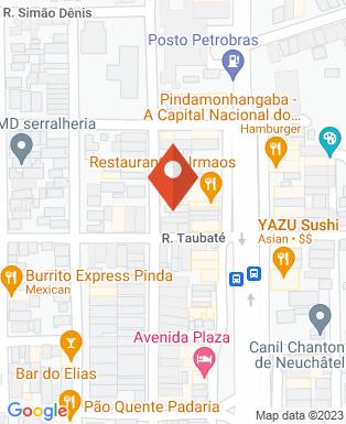 Mapa da empresa Mais Comunicação Visual