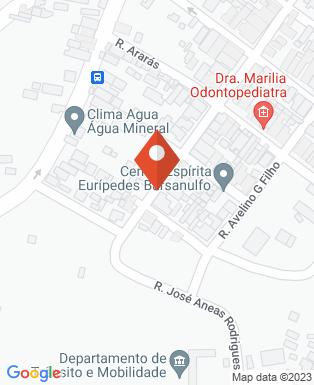 Mapa da empresa Disk Pizza dos Amigos