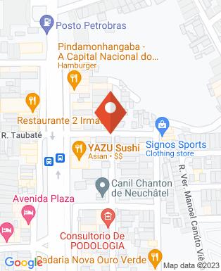 Mapa da empresa Podologia - Isabel Cristina de Paula Santos Lescura