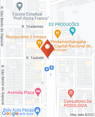 Mapa da empresa Imobiliária Confiança