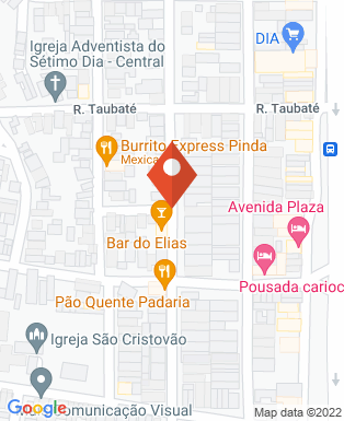 Mapa da empresa R Pimenta SexShop