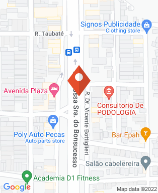 Mapa da empresa Imovest Assessoria Imobiliária