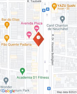 Mapa da empresa Rodrigues Auto Pecas e Acessórios