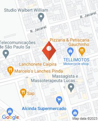 Mapa da empresa Lanchonete caipira