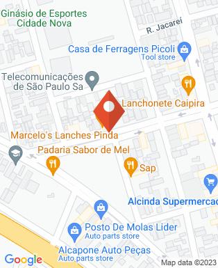 Mapa da empresa Marcelo's Lanches