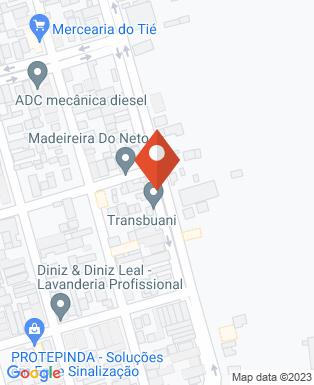 Mapa da empresa Fran Extintores