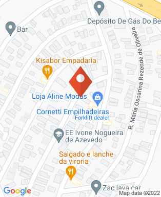 Mapa da empresa Consertos lá em Casa