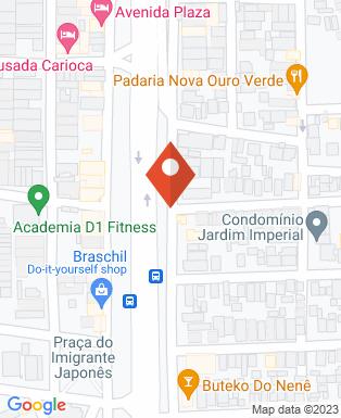 Mapa da empresa MPB Lanches