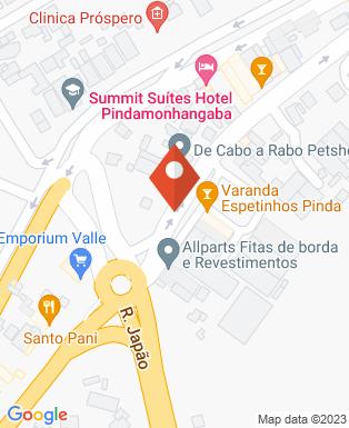 Mapa da empresa Boteco Vinil