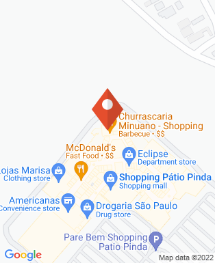 Mapa da empresa Minuano - Churrascaria & Restaurante (Shopping)