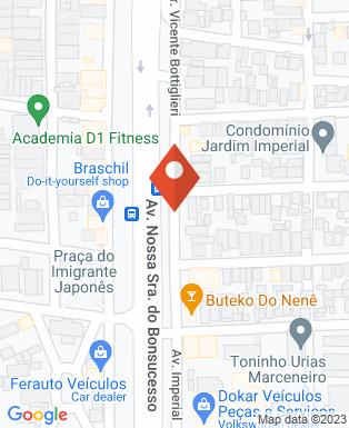Mapa da empresa Padú Veiculos