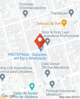 Mapa da empresa Leal -  Lavanderia Industrial