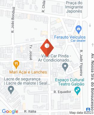 Mapa da empresa Criança & Companhia - Unidade II