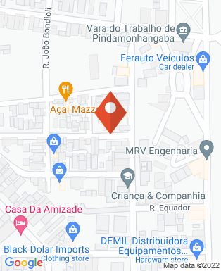 Mapa da empresa Construtora Rangel