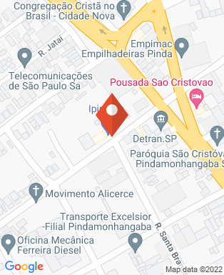 Mapa da empresa EMR - Estruturas Metálicas Ribeiro