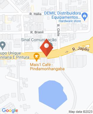 Mapa da empresa Léo Marteleira