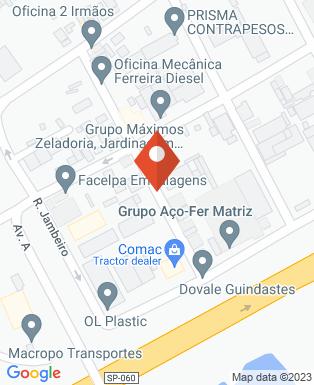 Mapa da empresa Alitec Service