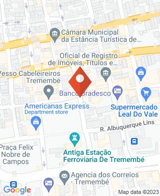 Mapa da empresa Prefeitura Municipal da Estância Turística de Tremembé