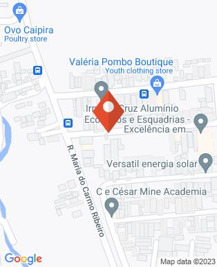 Mapa da empresa Vivaz - Portas e Janelas de PVC
