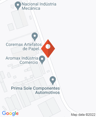 Mapa da empresa Aromax