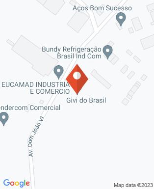 Mapa da empresa Bundy Refrigeração