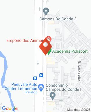 Mapa da empresa Monte Ária Eventos