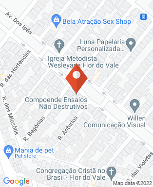 Mapa da empresa Compoende