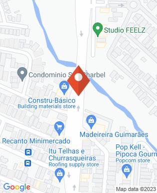 Mapa da empresa Constru Basico - Loja Conde