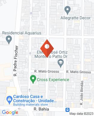Mapa da empresa Centro de Estética Regina Lobo Esteticista Facial