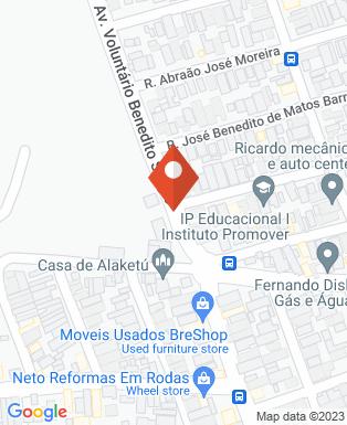 Mapa da empresa Depósito Casa Nova de Taubaté