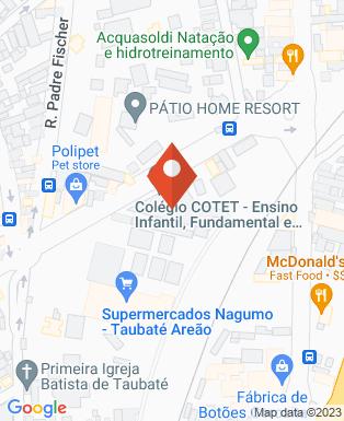 Mapa da empresa Colégio Cotet