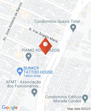 Mapa da empresa Picoloto Engenharia